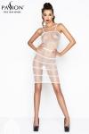 Robe résille BS033 - Blanc